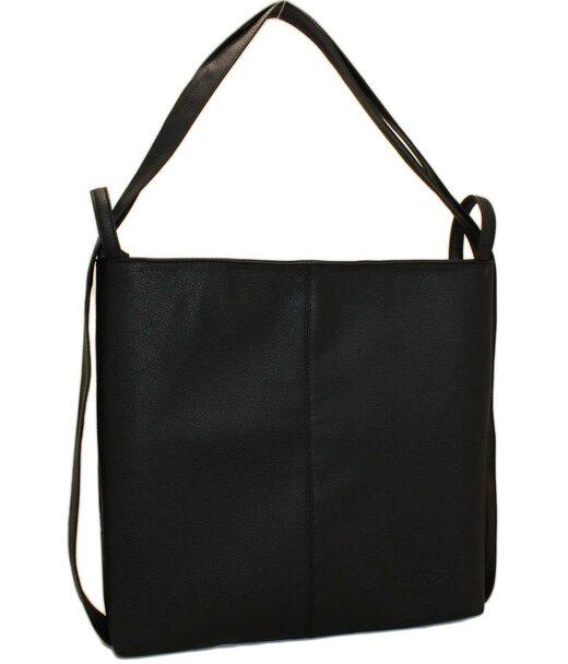 433 сумка-рюкзак чорна Lucherino