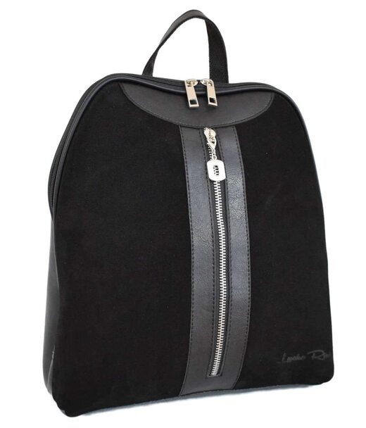 570 сумка-рюкзак черная н Lucherino