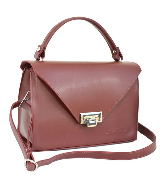 572 сумка бордо н Lucherino