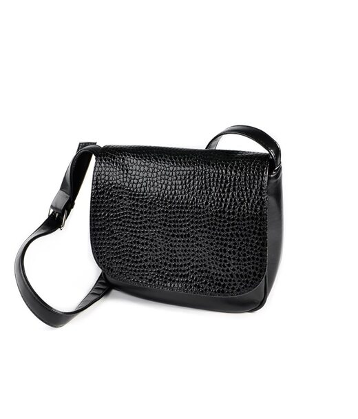 Жіноча сумочка під шкіру пітона М52-Z/14 Камелія