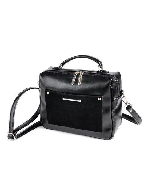 Сумка-чемоданчик М192-Z/замш Камелія