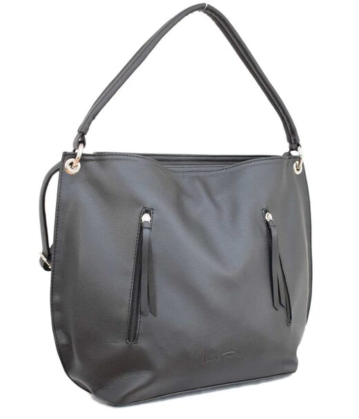 479 сумка черная мат н Lucherino