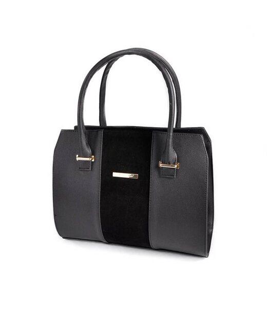 Жіноча каркасна сумка М62-91/замш Камелія