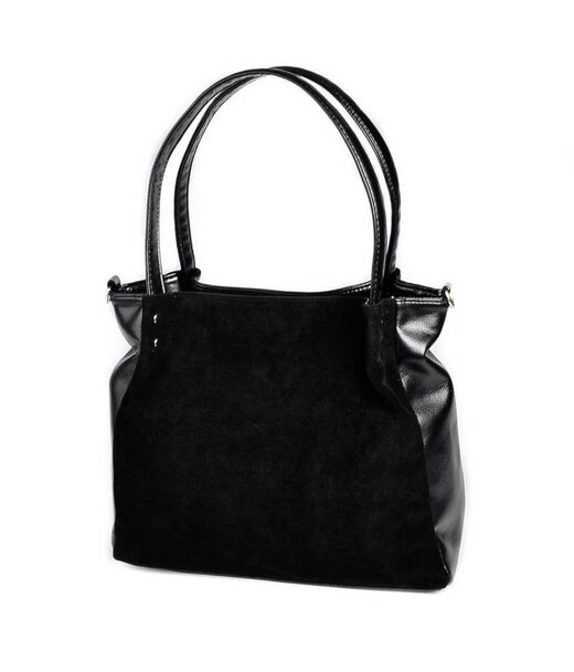 Жіноча сумка з натуральної замші М166-33/замш Камелія