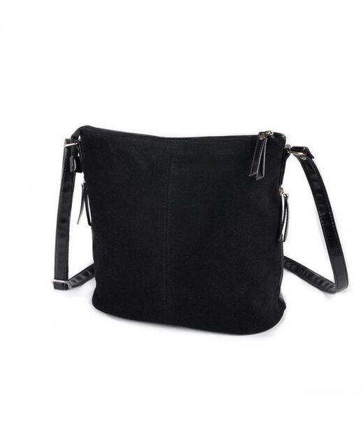 Жіноча замшева сумка через плече М78-замш/33 Камелія
