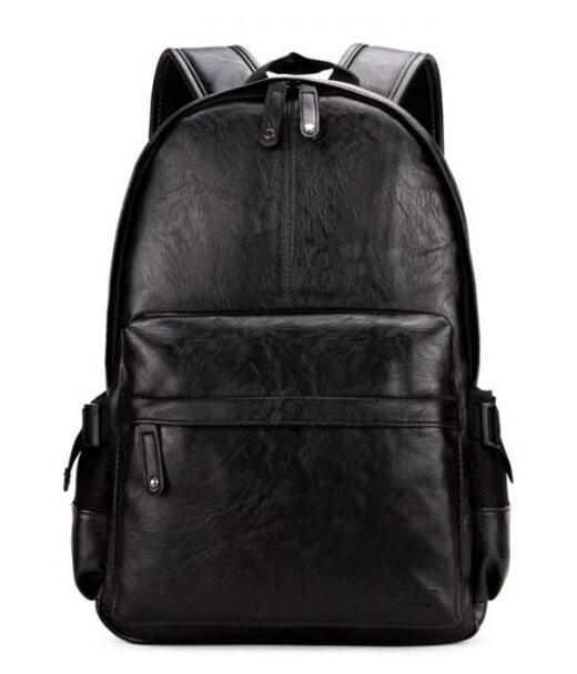 Чоловічий чорний рюкзак Polo Vicuna 5502-BL