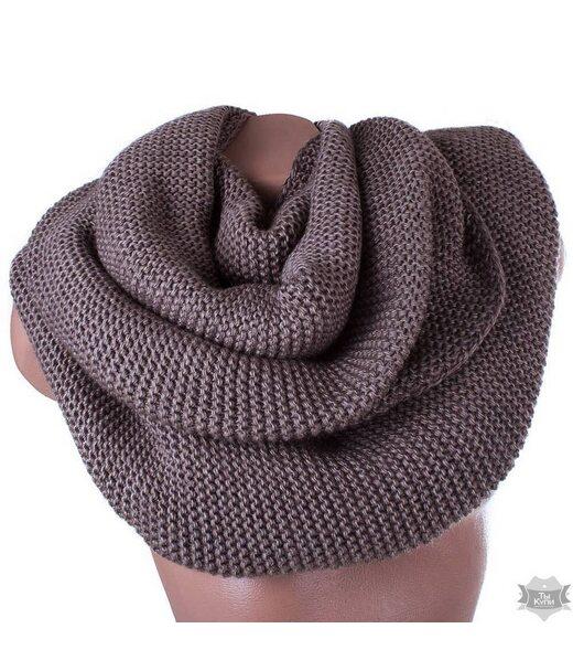 Жіночий шарф-хомут вовняний ETERNO ds1-9-1