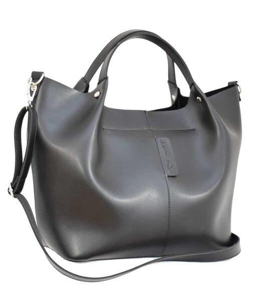575 сумка черная н Lucherino