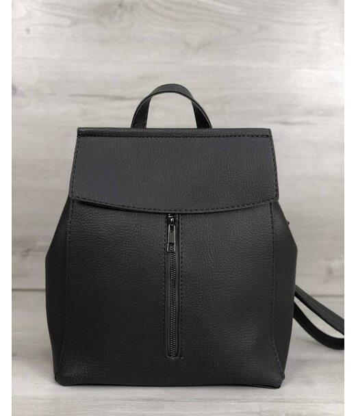 Молодіжний сумка-рюкзак Фабі сірого кольору WeLassie
