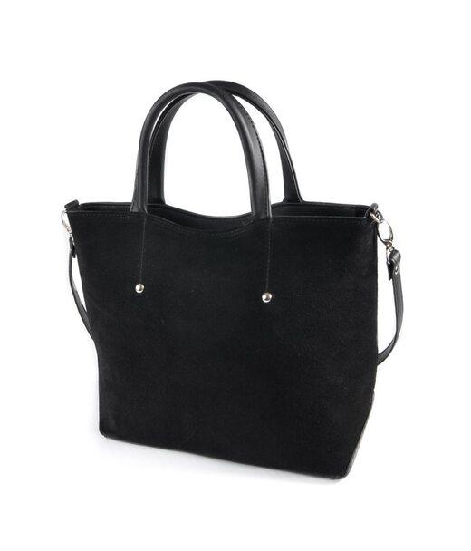 Жіноча сумка з натуральної замші М75-42/замш Камелія