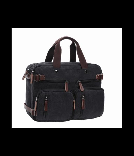 Чорна чоловіча сумка Tiding Bag 8691-2A