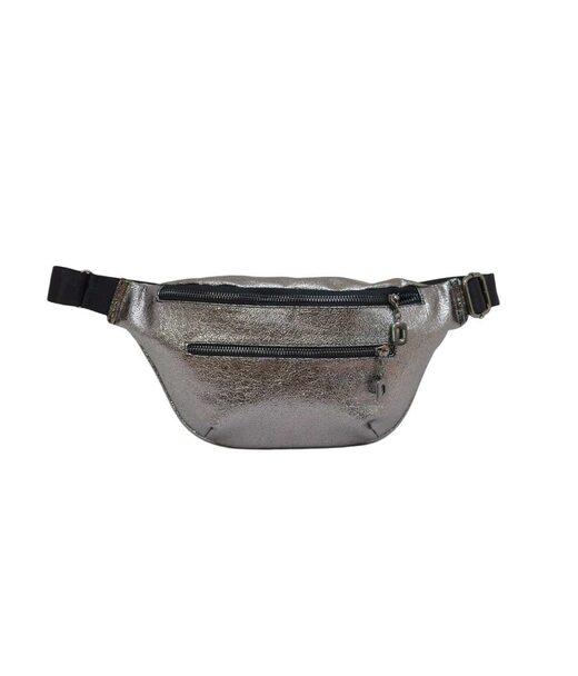 594 поясная сумка серебро бн Lucherino
