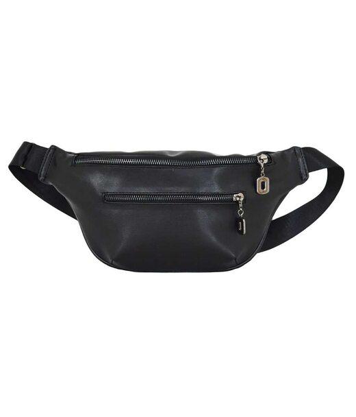 594 поясная сумка черная бн Lucherino