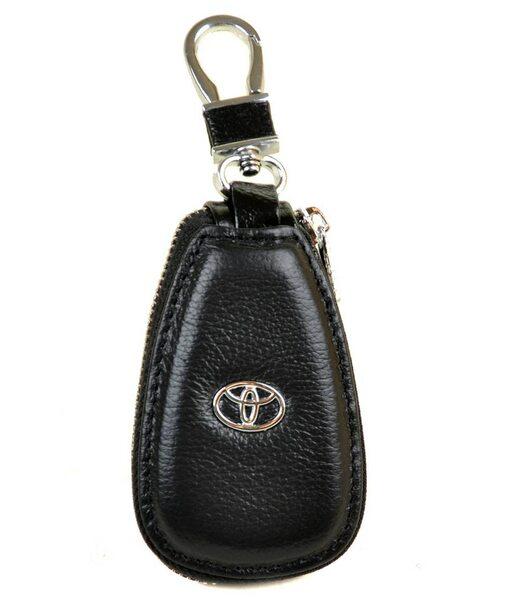Автоключниця шкіра F633 Toyota black Podium
