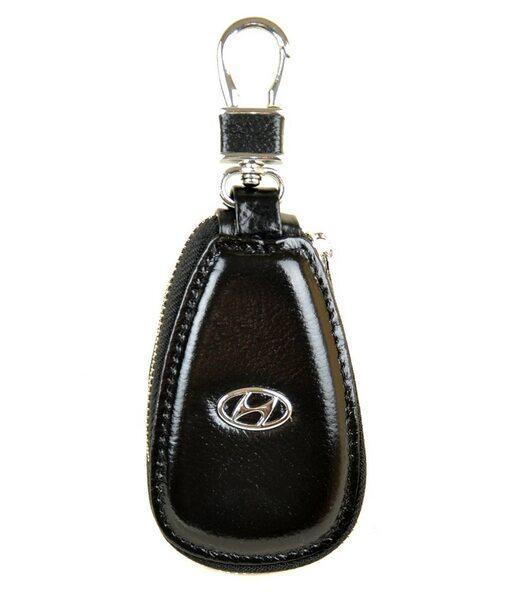 Автоключниця шкіра F633 Hundai black Podium