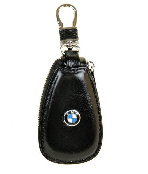 Автоключниця шкіра F633 BMW black Podium