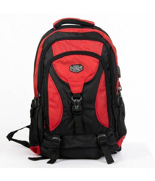 Рюкзак Міський нейлон Power In Eavas 8210 red