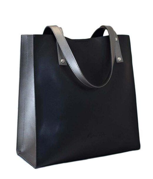 532 сумка чорна срібло Lucherino