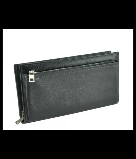 Черный кожаный мужской клатч Tiding Bag tr91890A