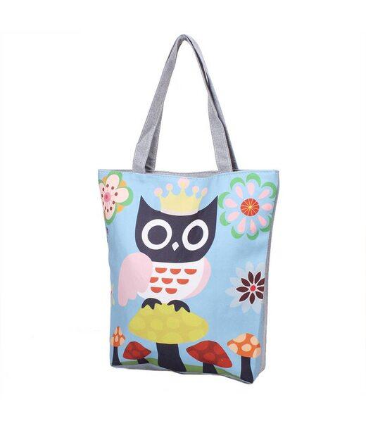 Женская пляжная тканевая сумка ETERNO (ЭТЕРНО) DET1809-4