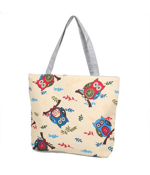 Женская пляжная тканевая сумка ETERNO (ЭТЕРНО) DET1802-2