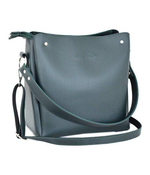 612 сумка зелёная Lucherino