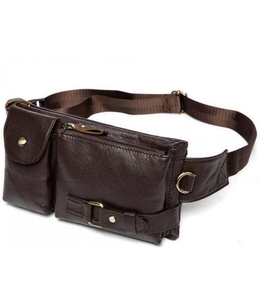 Шкіряна сумка на пояс Bexhill Bx9080B