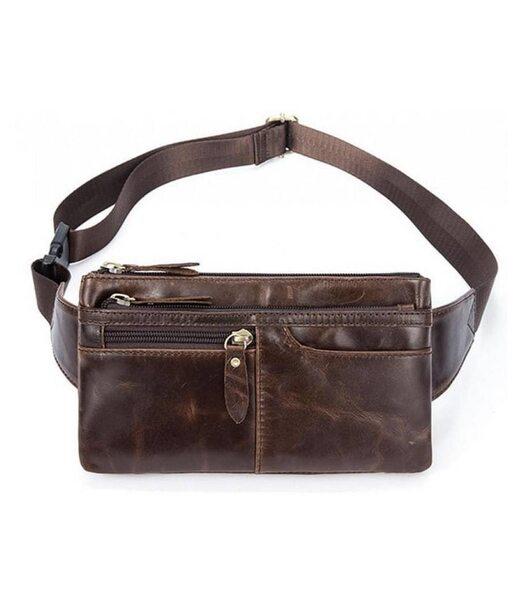 Шкіряна сумка на пояс Bexhill Bx8943C