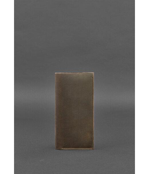 Кожаный тревел-кейс 3.1 темно-коричневый - BN-TK-3-1-o BlankNote