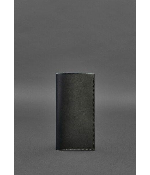 Шкіряний тревел-кейс 3.1 чорний Краст - BN-TK-3-1-g BlankNote