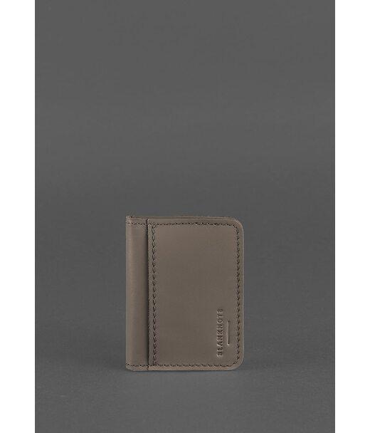 Кожаная обложка для водительских прав 4.0 темно-бежевая - BN-KK-4-beige BlankNote