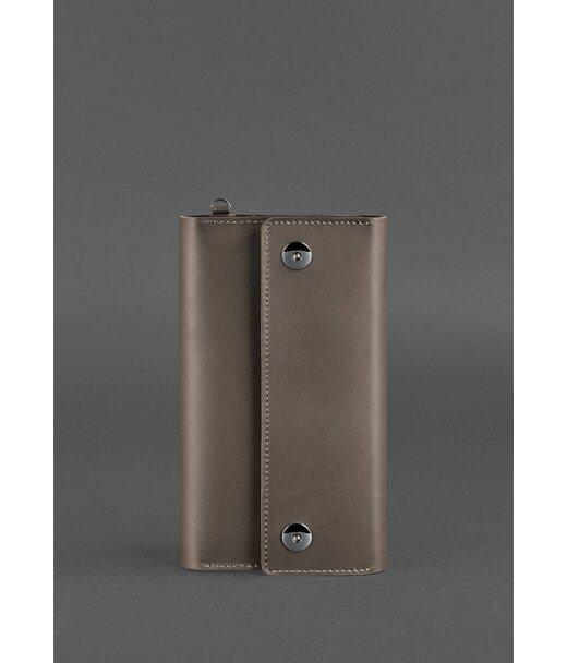 Кожаный клатч-органайзер (Тревел-кейс) 5.0 темно-бежевый - BN-TK-5-beige BlankNote