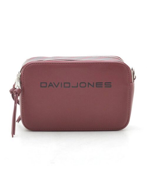 Клатч David Jones 6169-1 dark red