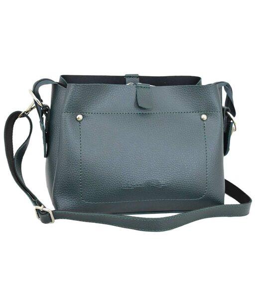 574 сумка зереная Lucherino