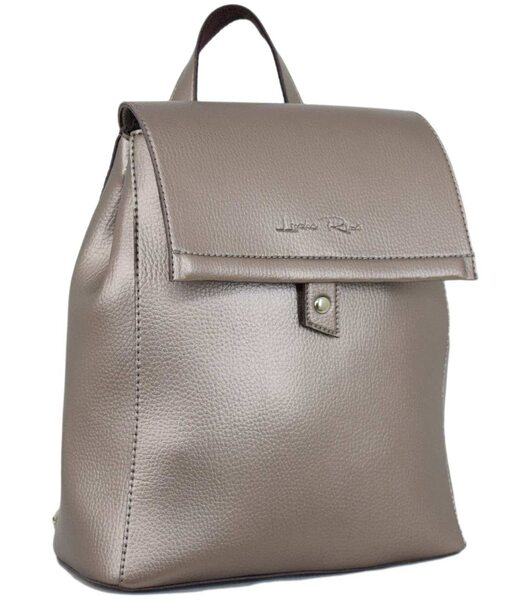 608 рюкзак серебряная бронза Lucherino