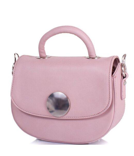 Жіноча міні-сумка з якісного шкірозамінника AMELIE GALANTI (АМЕЛІ ГАЛАНТІ) A15012002-pink