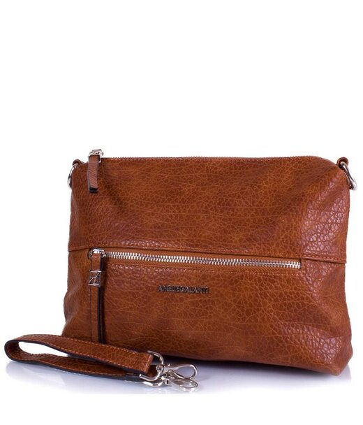 Жіноча міні-сумка з якісного шкірозамінника AMELIE GALANTI (АМЕЛІ ГАЛАНТІ) A991351-bown