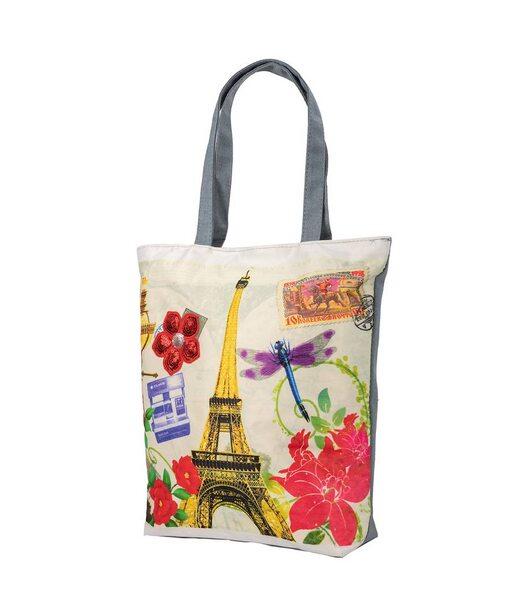 Женская пляжная тканевая сумка ETERNO (ЭТЕРНО) DET1801-7