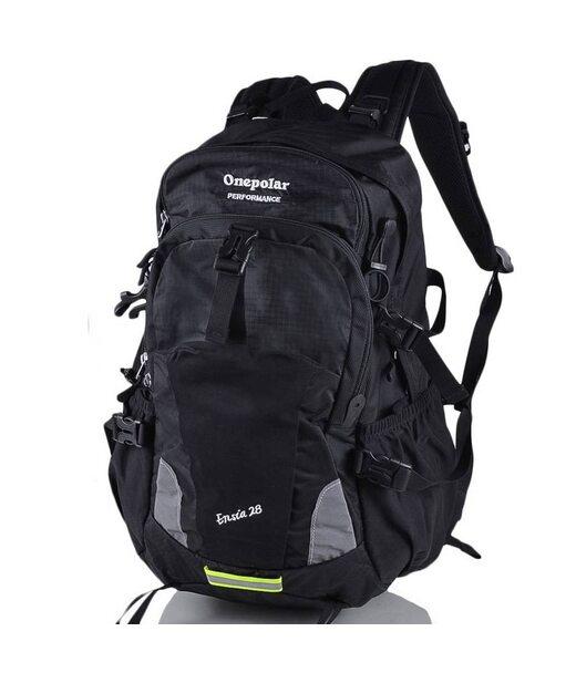 Чоловічий трекінговий рюкзак ONEPOLAR (ВАНПОЛАР) W1729-black