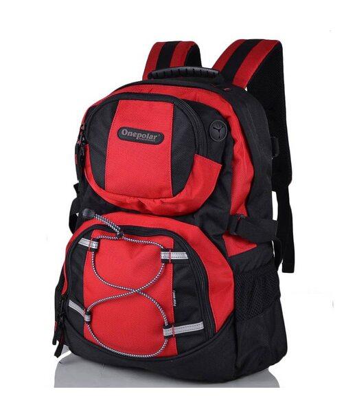 Рюкзак для н/б ONEPOLAR (ВАНПОЛАР) W1312-red