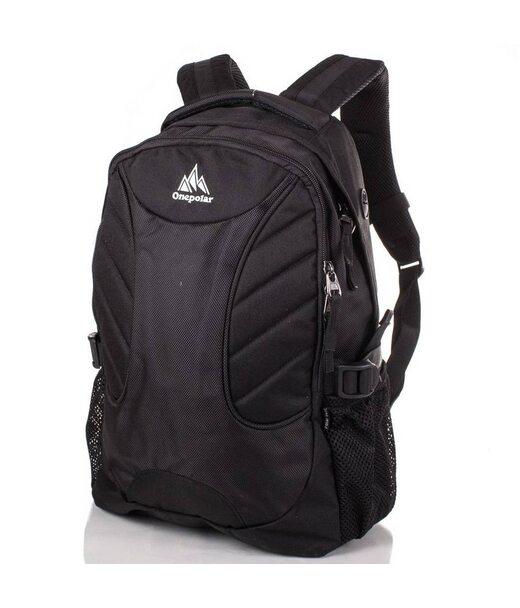 Мужской рюкзак с отделением для ноутбука ONEPOLAR (ВАНПОЛАР) W1307-black