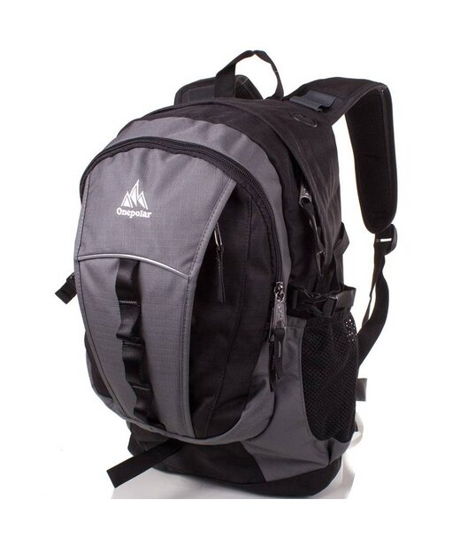 Мужской рюкзак ONEPOLAR (ВАНПОЛАР) W1300-grey