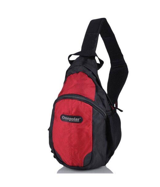 Дитячий рюкзак ONEPOLAR (ВАНПОЛАР) W1292-red