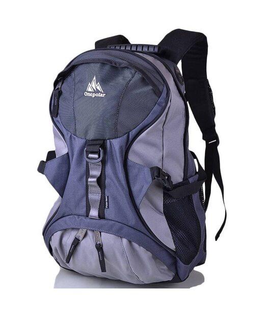 Чоловічий рюкзак ONEPOLAR (ВАНПОЛАР) W1056-grey