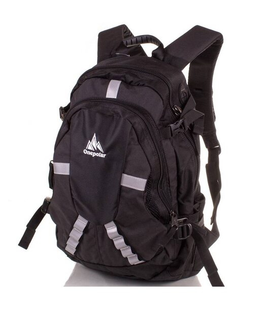 Мужской рюкзак ONEPOLAR (ВАНПОЛАР) W1017-balck