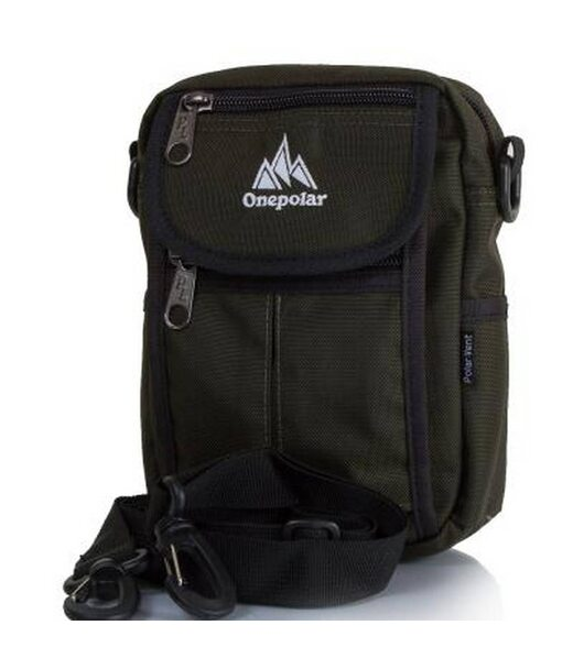 Мужская спортивная сумка ONEPOLAR (ВАНПОЛАР) W4177-green