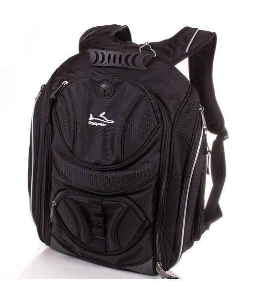 Чоловічий рюкзак ONEPOLAR (ВАНПОЛАР) W1327-black