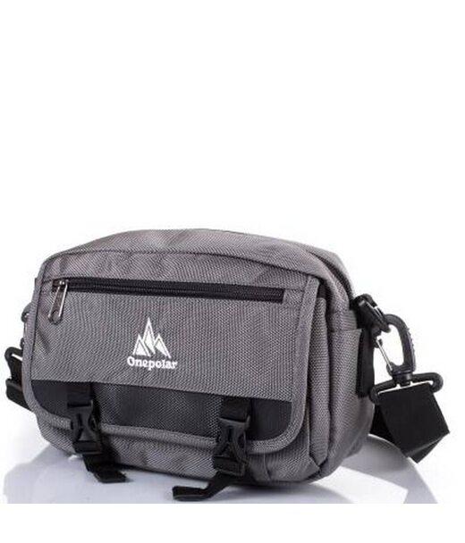 Мужская спортивная сумка ONEPOLAR (ВАНПОЛАР) W5078-grey