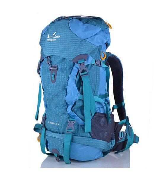 Жіночий рюкзак туриста ONEPOLAR (ВАНПОЛАР) W1632-biruza