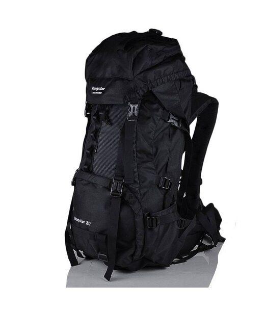 Чоловічий рюкзак туриста ONEPOLAR (ВАНПОЛАР) W837-black